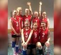 Тулячки выступили на волейбольном турнире в Москве