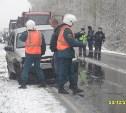 Три человека пострадали в результате ДТП с четырьмя авто на дороге «Тула-Белев»