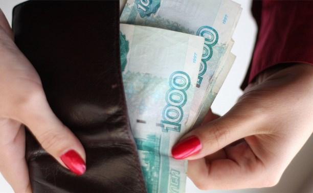 Сотрудница тульского  магазина выкрала из комнаты продавцов 172 тысячи рублей