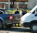 В Туле сотрудники ДПС остановили внедорожник, в котором обнаружили тела двух мужчин: видео