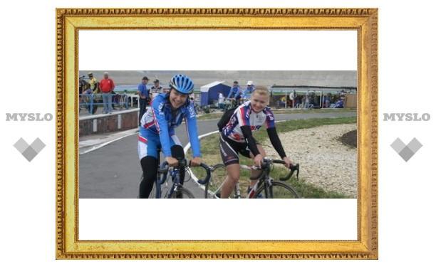 Тульские велосипедисты стали первыми