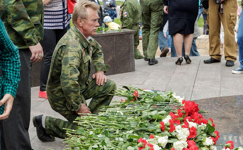 В Туле состоялся митинг в честь Дня ветеранов боевых действий