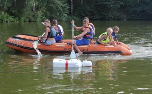 Юные спасатели из Чернского района принимают участие в межрегиональных соревнованиях