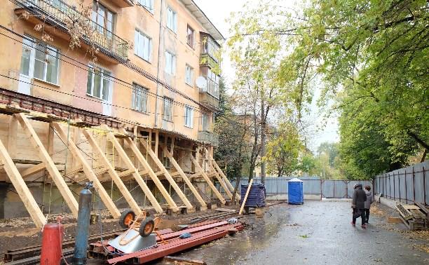 Тулячка категорически отказалась покидать аварийный дом №6 на ул. Смидович