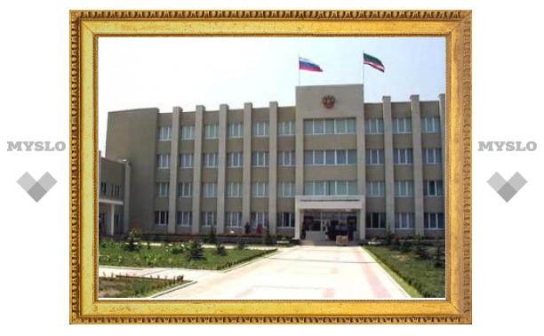 В парламенте Чечни слышны выстрелы