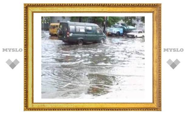 В Туле начался потоп