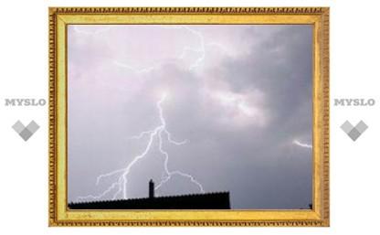 По Туле прошелся ураган