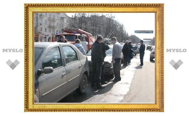 В столкновении 6 машин виноват водитель Daewoo
