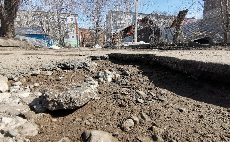 Самые «убитые» дороги Тулы: где дорожники не успели залатать ямы до 1 мая?