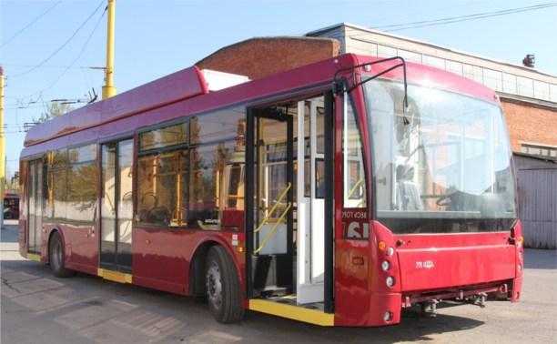 В Тулу поступил первый троллейбус с автономным ходом