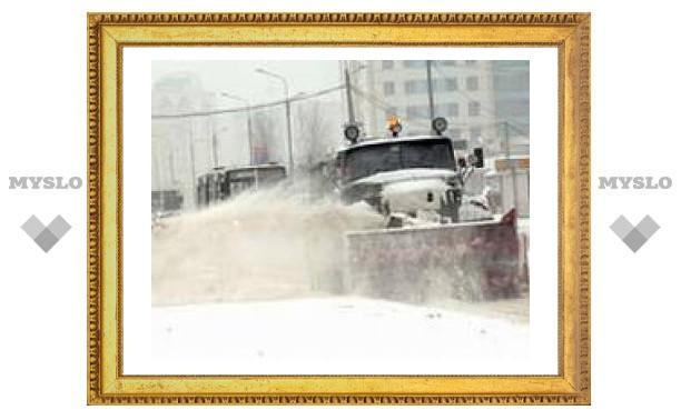 Дорожные службы Тулы готовы к борьбе со стихией