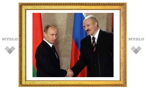 Россия выдала Белоруссии кредит