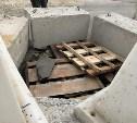 На улице Агеева в Туле самосвал проломил асфальт