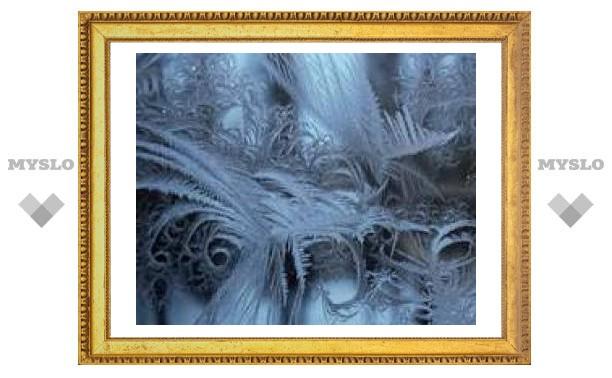 Ночью в Туле будет сильный мороз