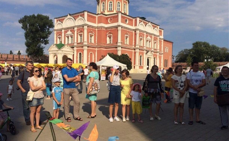 Тульский кремль превратился в пряничную страну