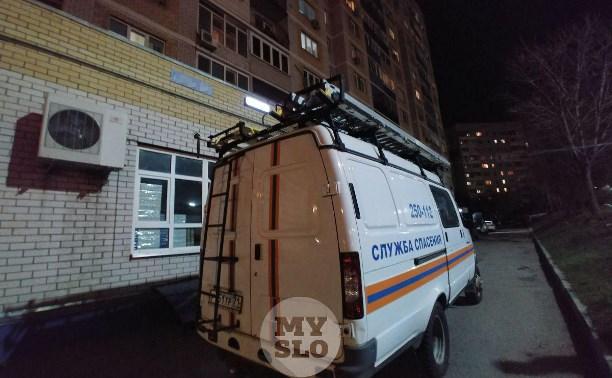 В Туле на ул. Кутузова с балкона многоэтажки выпал ребенок