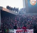 Фанат, упавший с крыши стадиона, находится в тяжелом состоянии