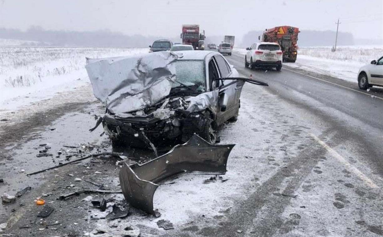 ДТП в Веневском районе: водители обеих машин находятся в тяжелом состоянии
