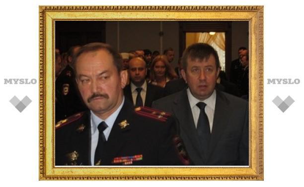 Тульской полиции представлен новый начальник областного УМВД