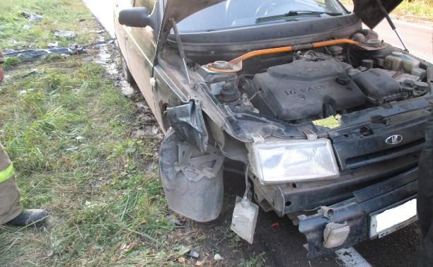 В аварии в Тульской области пострадали четыре человека