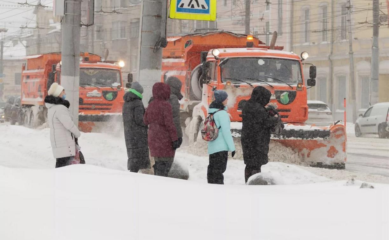 В Туле обсудили ликвидацию последствий снегопада