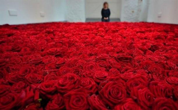 Парень украл 200 роз, чтобы помириться с девушкой
