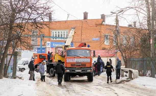 В Ханинском проезде по решению суда убрали бетонные плиты, перегораживающие дорогу
