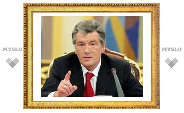 Президент Украины Ющенко едет в Москву за газом