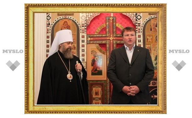 Туляки отметили день рождения Алексея Хомякова