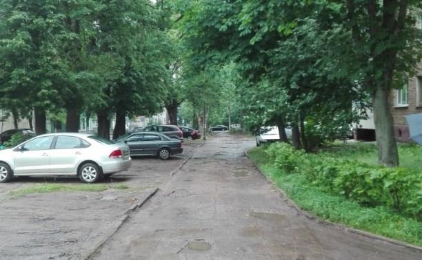 На минувшей неделе в Туле отремонтировали тротуары на 11 улицах
