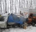В Новомосковском районе хлебный фургон врезался в «Газель»