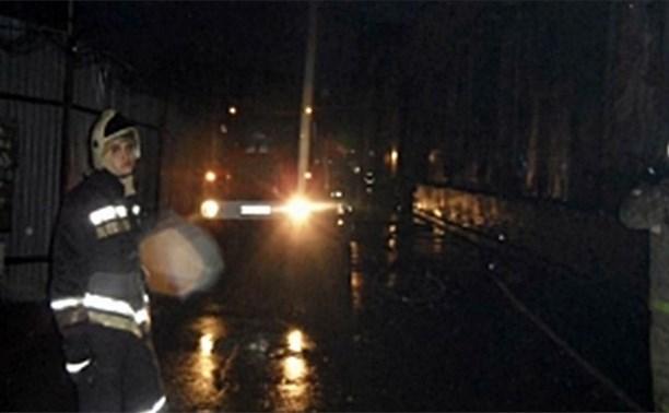 Ночью в Заречье загорелась трансформаторная подстанция