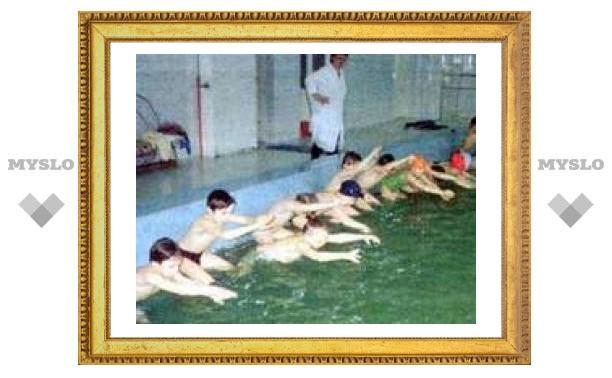 В детском саду в Плеханове открыли бассейн