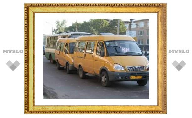 Ездить на маршрутках в Новомосковске опасно