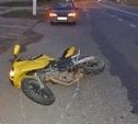 На трассе под Тулой автоледи сбила мотоциклиста