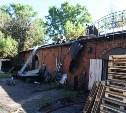 В Туле рядом с улицей Металлистов сгорел дом