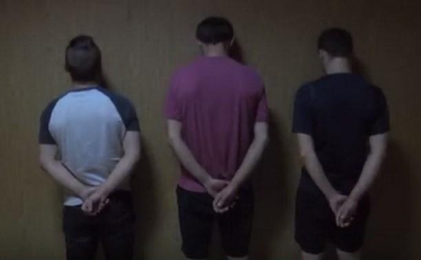 В Рязани накрыли группу наркодилеров из Тульской области