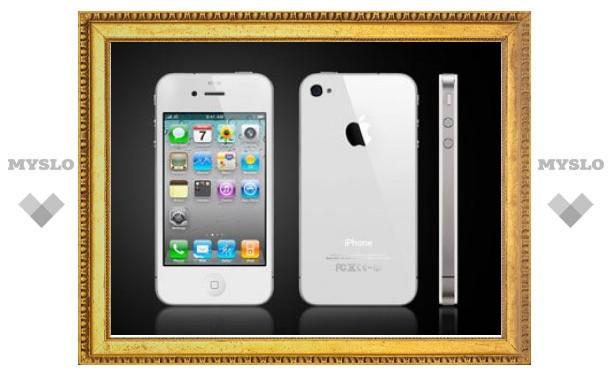 В России начались продажи белого iPhone 4