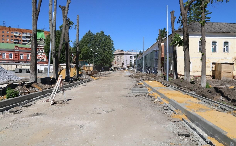 В Туле открыто движение транспорта по улице Благовещенской