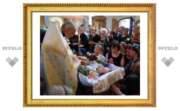 В Москве было совершено отпевание священника Георгия Чистякова