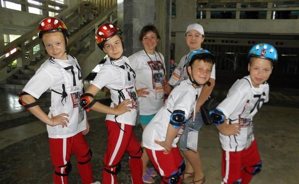 Юные туляки приняли участие в конкурсе «Безопасное колесо – 2015»