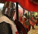 Открылась выставка рыцарского оружия