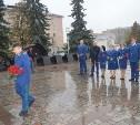 Сотрудники прокуратуры Тульской области возложили цветы к Вечному огню