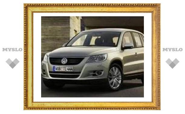 Немецкие автомобилисты назвали Volkswagen Tiguan лучшим внедорожником года