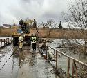 Паводок отступает: транспортное сообщение по мостам в Одоевском и Суворовском районах восстановлено