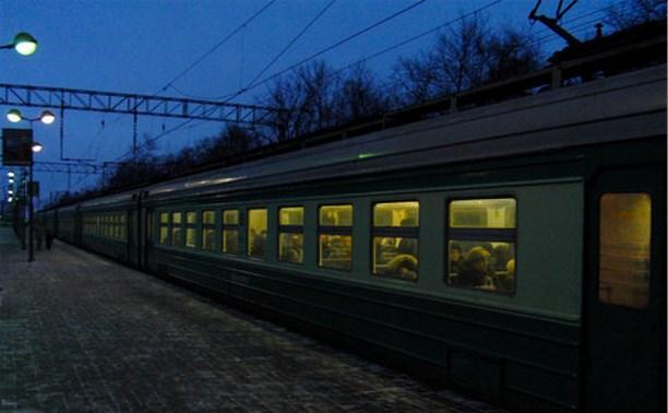 В Тульской области отменили два пригородных поезда