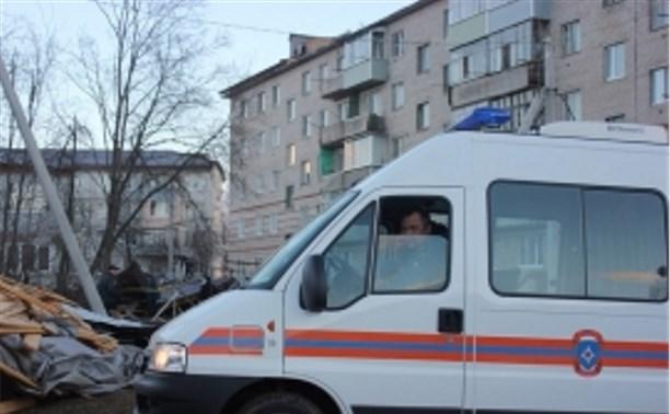 В Чернском районе восстановлены крыши пяти домов