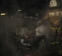 Ночью в Заречье неизвестные сожгли три автомобиля