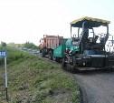 До конца июля завершат ремонт автоподъезда к селу Себино