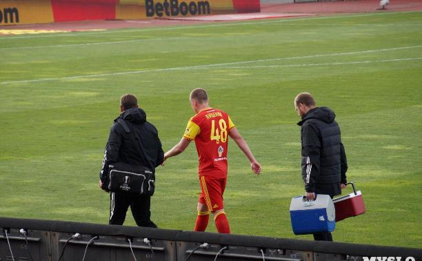 Стали известны сроки восстановления нападающего тульского «Арсенала» Евгения Луценко